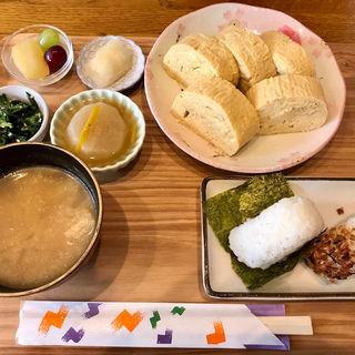 だし巻き卵定食(染谷商店)