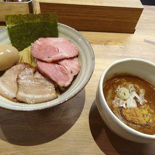 特製魚介とんこつつけ麺(自家製麺 つきよみ)