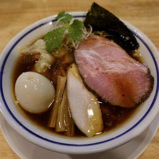煮玉子中華そば(醤油)(手打式超多加水麺 ののくら)