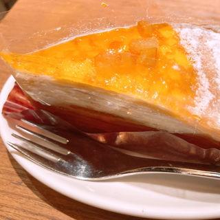 オレンジキャラメルミルククレープ(プロント 新宿駅東口店 (PRONTO))