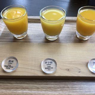 みかんジュース飲み比べ(10Factory)