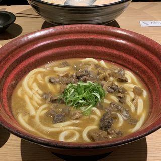 国産牛ロース しゃぶ肉のカレーのおうどん(つるとんたん 羽田空港店 )