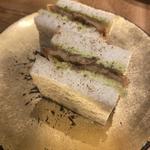 穴子サンド