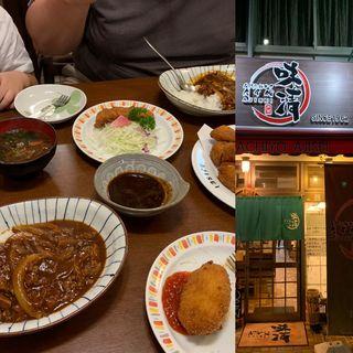 ロースかつ定食(味噌)