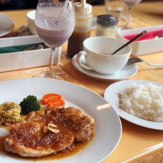 ポークソテー(Cafe Orata)
