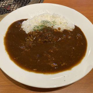 牛すじカレー(安楽亭 北小岩店 )