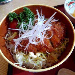 鰺フライ丼(道の駅 岩城 レストラン はまなす )