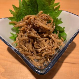 じゃこ山椒(魚と酒 めから鱗)