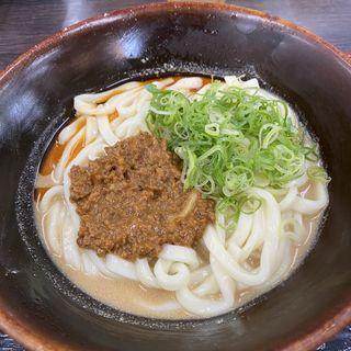 冷坦々うどん(資さんうどん 野芥店 (スケサンウドン))