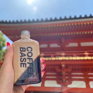 ボトルドリンクカフェオレ&コーヒーゼリー(Coffee Base Kanondo)