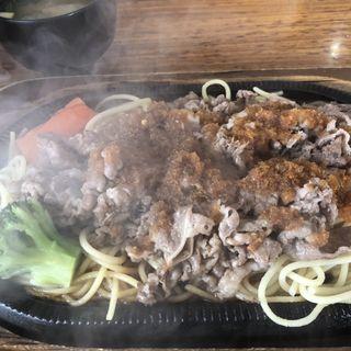 風月オリジナルビーフバター焼き(グルメ風月 広川SA店)