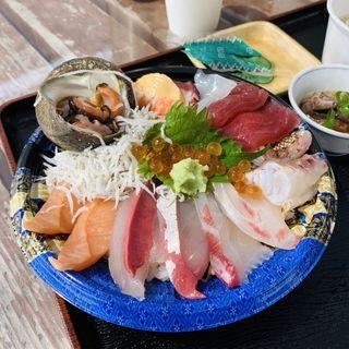 上海鮮丼(うおたけ鮮魚店やけんど 海鮮どんや)