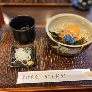 納豆そば(手打蕎麦 いしおか )