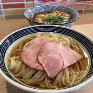 和風つけ麺 ぎん兵衛(限定メニュー)  あげ2枚(まるぎん商店)