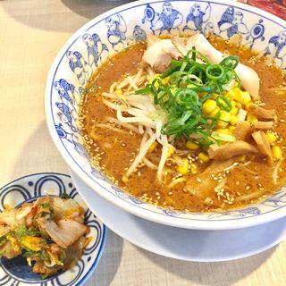 味噌ラーメン(中華菜館 蟹江店)