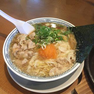 熟成醤油ラーメン 肉そば 682円(丸源ラーメン 千音寺店 )