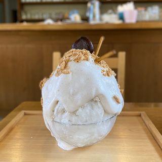 モンブランのかき氷(Ciao (チャオ))