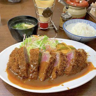 ビフカツ(洋食の朝日)
