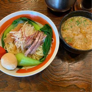 うま辛つけ麺(1.5玉)(餃子の天ぱり )