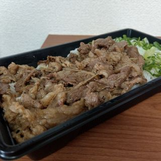 カルビ焼肉弁当(肉のヤマキ商店 両国店)