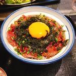 薄切りレアステーキ丼(日本焼肉党 )