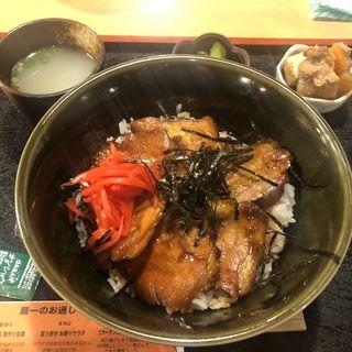 キジ丼(鳥一伝承 焼鳥酒場ヤスモリ商店)