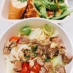 ランチプレート(肉のラグーとキャベツ 香草レモン風味)