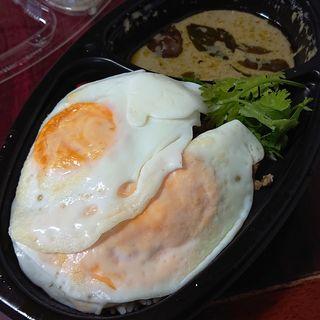 ガパオ炒めご飯&グリーンカレー(アジアンビストロDai 武蔵小杉店)