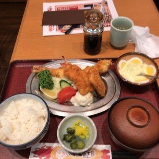 海老ふりゃ〜 食べくらべ定食(海老どて食堂 )