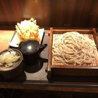 かき揚げ蕎麦(さ竹 恵比寿店)