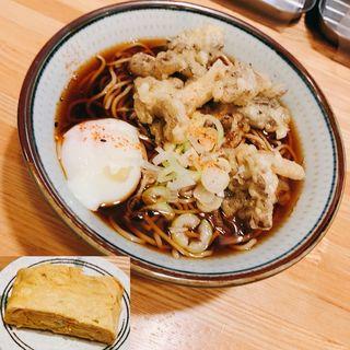天ぷらそば(舞茸)(福そば )