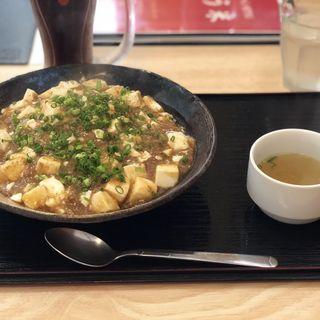 こう米風麻婆あんかけ炒飯(チャーハン専門店 こう米)