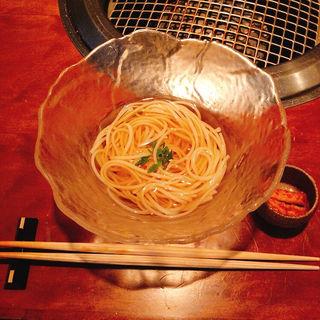 阿部の手延べ素麺(みすじ (よろにく2号店))
