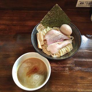 天草大王物語 白湯の章 つけ麺(限定)(麺座 かたぶつ )