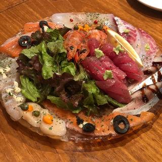 魚魂!!カルパッチョ(魚とワインはなたれThe Fish and Oysters)