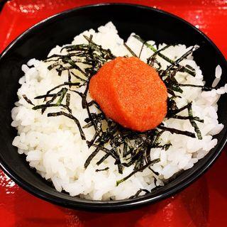 辛子明太丼セット(辛子明太丼)(古潭らーめんホワイティ梅田店)