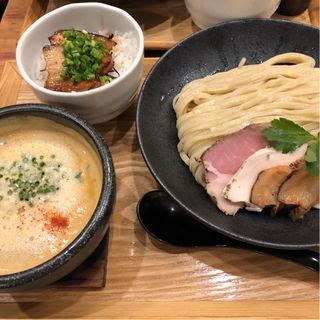 台湾つけ麺(麺家 半蔵 (伊勢海老つけ麺 はんぞう))