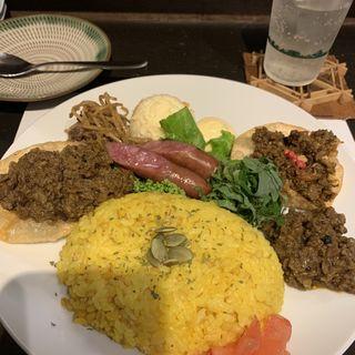 馬肉スパイスキーマカレー(博多馬肉処 ふろく )