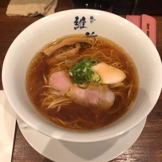 醤油らぁ麺(麺や 維新)