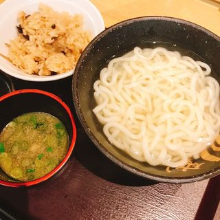 釜あげうどん(澤乃井 )