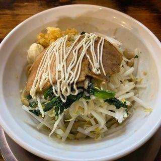 汁なし麺(ラーメン ヤスオ (【旧店名】スズキ ヤスオ))