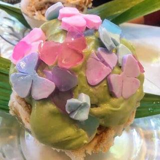 紫陽花(いちょうの木 )