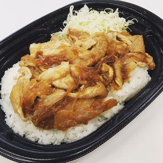 大盛り!生姜焼き丼(ローソン 御徒町駅北口店)