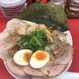 特製醤油ラーメン全部のせ(魁力屋 東久留米店 )