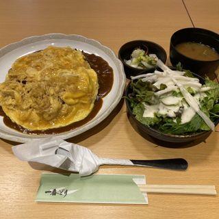 オムカレー(一番どり 新橋東口店)