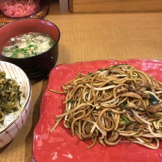 ランチBセット(高菜ご飯)(バソキ屋 那の川本店 )