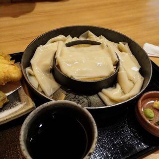 ざる(醤油)(五代目 花山うどん)