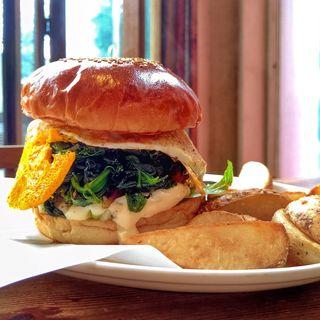 Popeye Burger(ArmS Park Side Burger Shop)