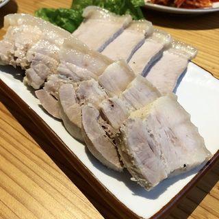 蒸し豚(韓国食堂入ル  ゴショミナミ)