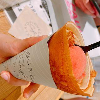 バターとお砂糖のクレープ(GELATO PIQUE CAFE  三井アウトレットパーク木更津)